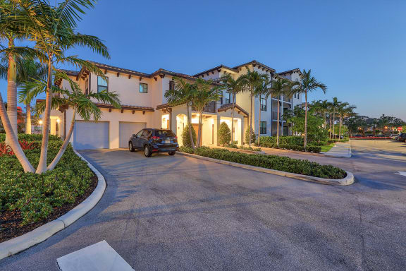 Attached Garages available at Windsor at Delray Beach, Delray Beach, Florida