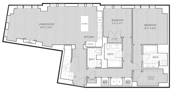 Floor Plan  PH13, opens a dialog
