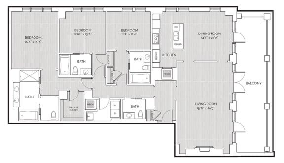 Floor Plan  PH15, opens a dialog