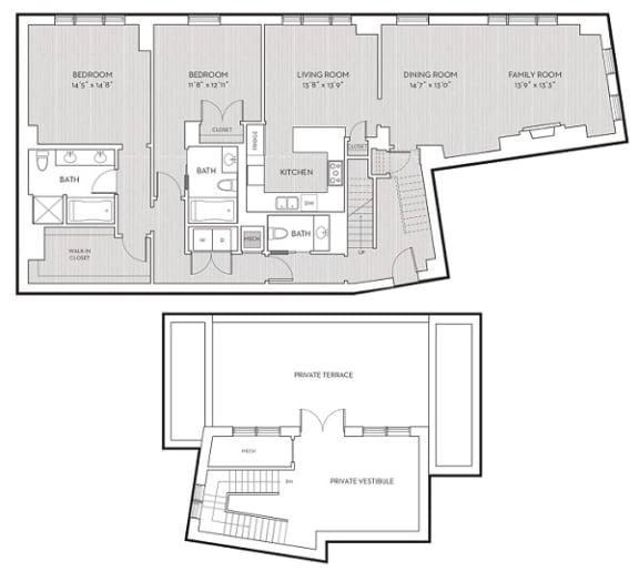 Floor Plan  PH2, opens a dialog