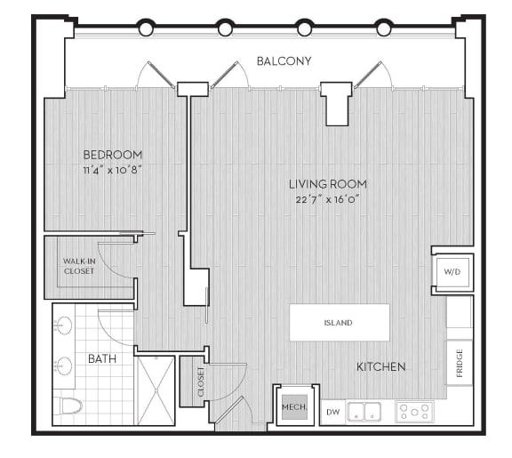 Floor Plan  PH3, opens a dialog