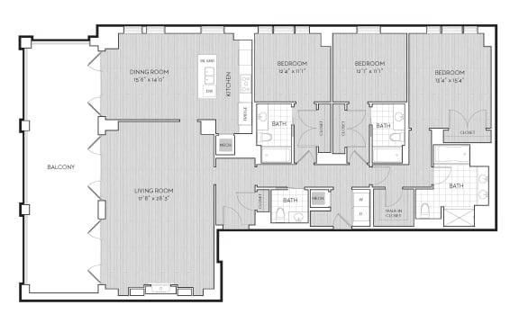 Floor Plan  PH4, opens a dialog