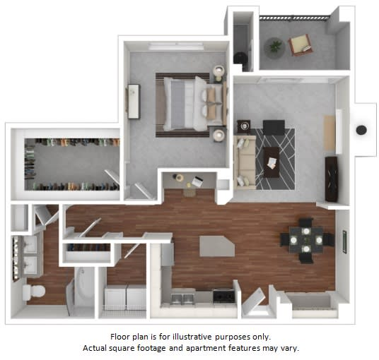 Floor Plan  Pomponette floor plan at Windsor at Meadow Hills, 4260 South Cimarron Way, 80014