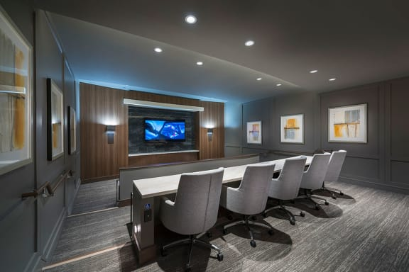 Media room at Cannery Park by Windsor, CA, 95112
