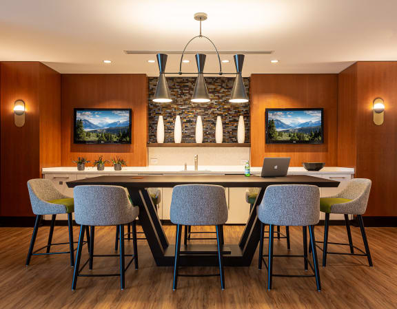 Clubhouse lounge at The Ridgewood by Windsor, VA, 22030