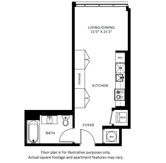 Floor Plan  S1 Floor Plan at 7770 Norfolk, Maryland, 20814
