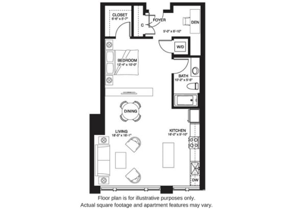 Floor Plan  S11 South at The Bravern, 688 110th Ave NE, 98004