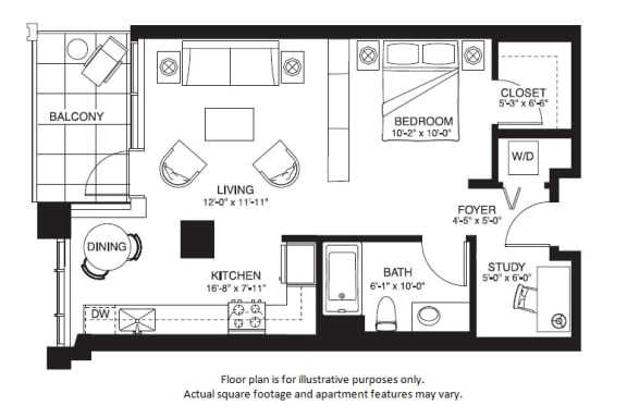 Floor Plan  S14 South NEW(1) at The Bravern, Washington, 98004
