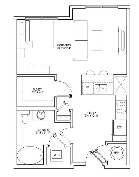 Floor Plan  S1A