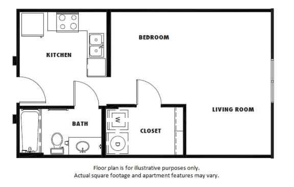 Floor Plan  S2 floor plan at Windsor Metro West, Plano, Texas