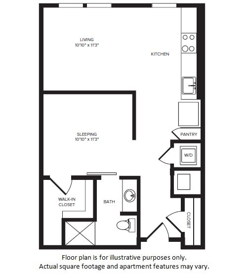 Floor Plan  S3(1) floor plan at Windsor Turtle Creek, TX, 75219, opens a dialog