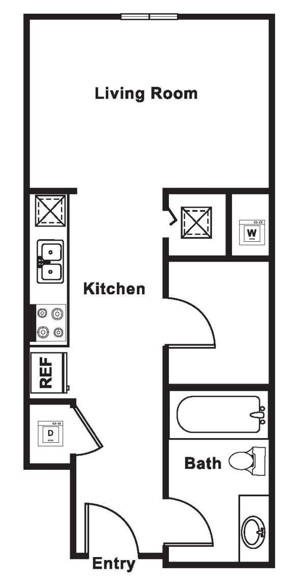 Floor Plan  S4 floor plan at Cirrus, Seattle, WA