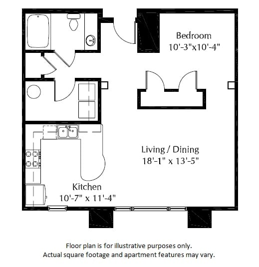 Floor Plan  40E Floor Plan at The District, Colorado, 80222