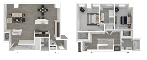 Floor Plan  Whitney