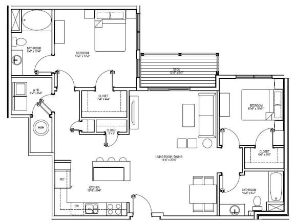 Floor Plan  B4E