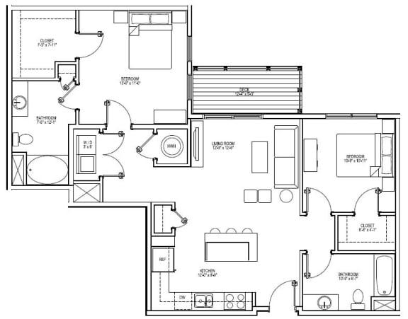 Floor Plan  B4G