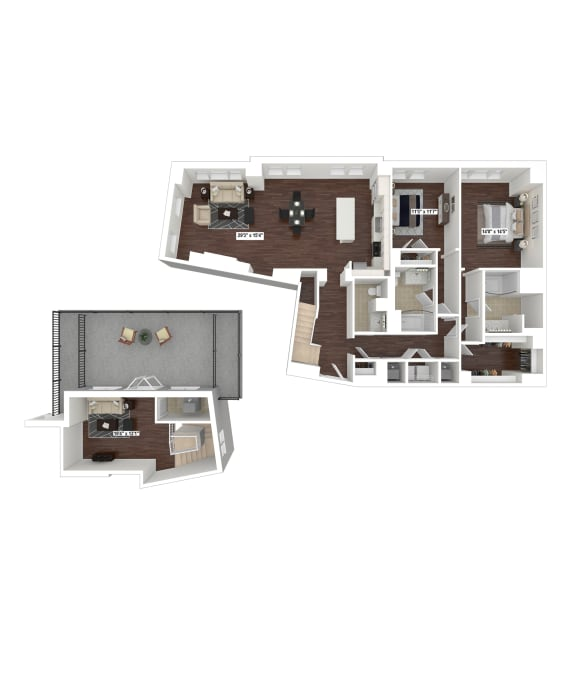 Floor Plan  PH13
