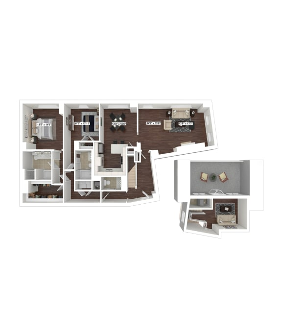 Floor Plan  PH2