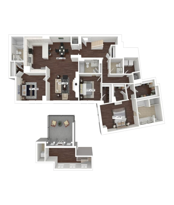 Floor Plan  PH6