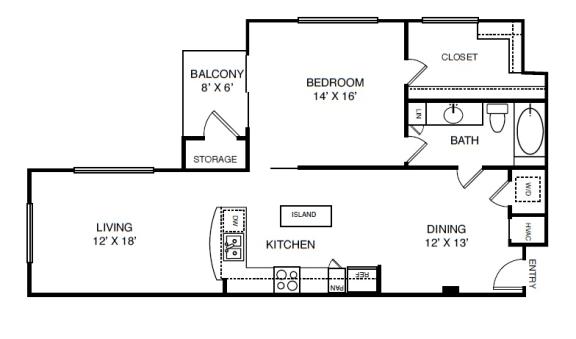 Floor Plan  A8R2