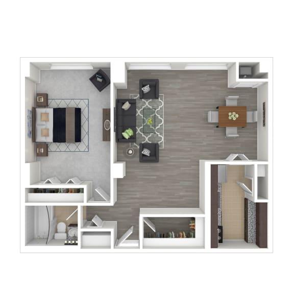 Metro 710 Apartments 1 Bedroom