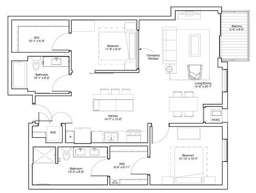 Floor Plan  Davis