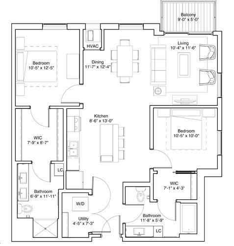 Floor Plan  Crawford