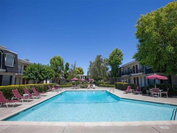 Large Swimming Pool at Normandy Park, Santa Clara, CA, 95050