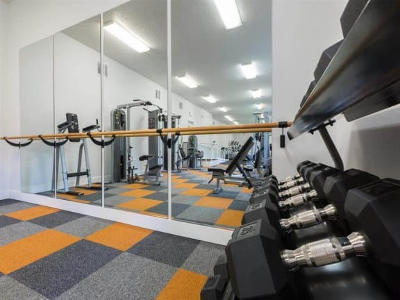 Strength Training at Valley West Apartments in San Jose, CA 95122
