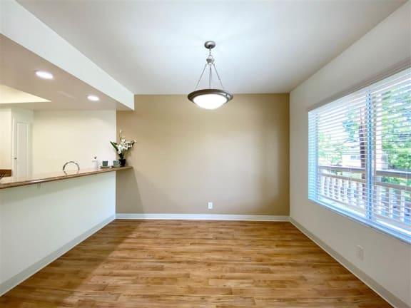 Hardwood Flooring In Kitchen at The Glens, San Jose, 95125