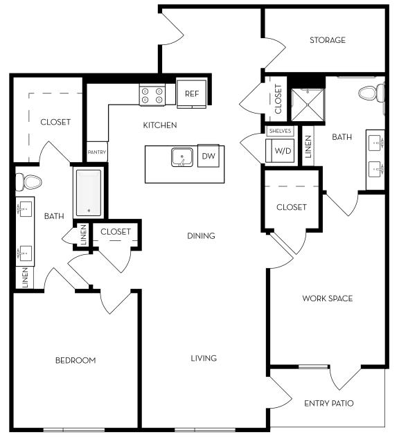 Livework1 Floor Plan