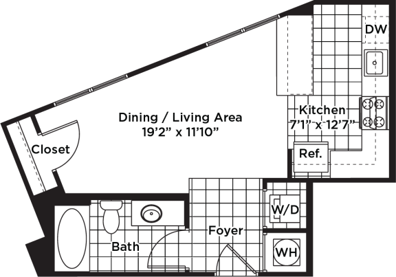 Floor Plan  s01m  (Income Restricted)