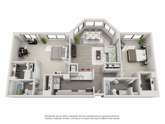 Floor Plan  B04 (INCOME RESTRICTED)