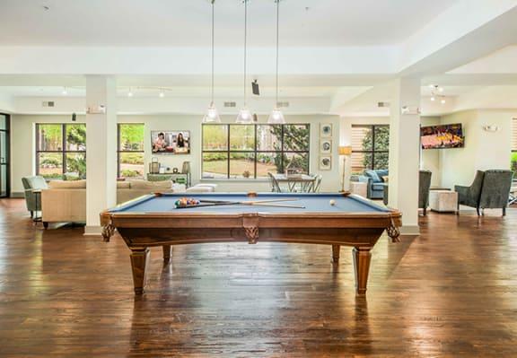 Carolina Point Clubroom with Billiards