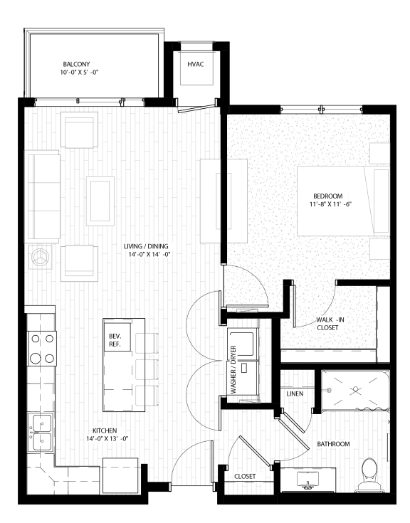 Nuvelo at Parkside Apartments in Apple Valley, MN Floor Plan