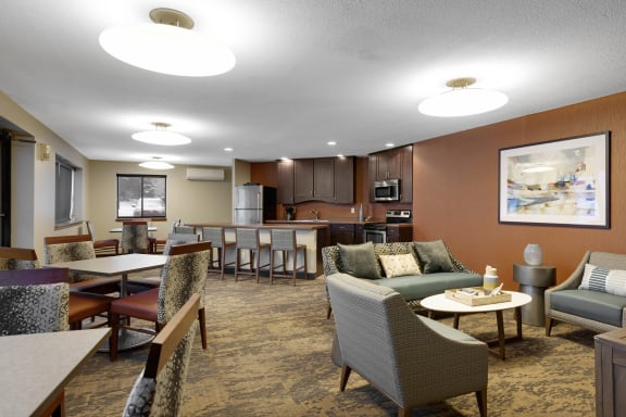 Valley Pond Apartments in Apple Valley, MN Community Room
