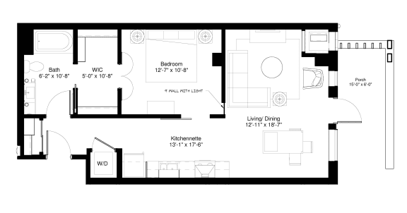 Floor Plan  Black Willow