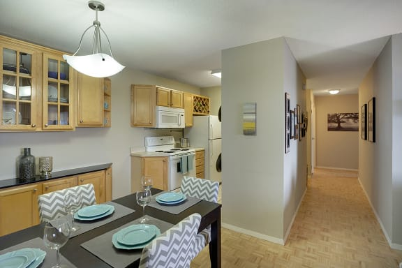 The Edina Towers Apartments in Edina, MN Living Spaces