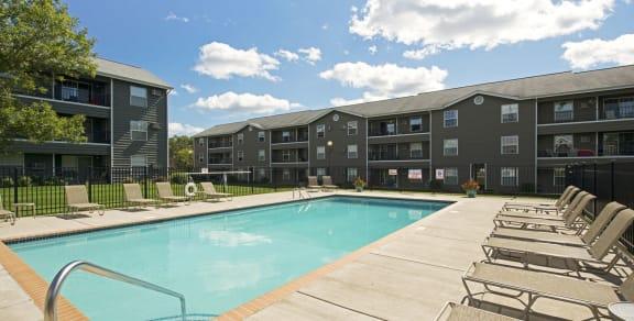 Evans Meadows Apartments in Elk River, MN Pool