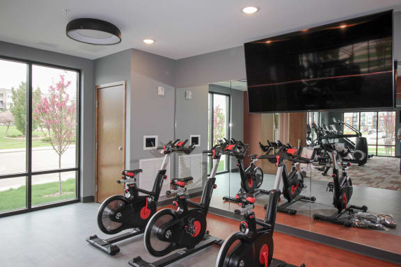 Nuvelo at Parkside Apartments in Apple Valley Fitness Studio