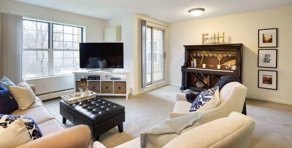 Mallard Creek Apartments in Golden Valley, MN Living Room