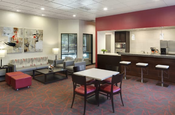 Mears Park Place Apartments in Saint Paul, MN Community Room