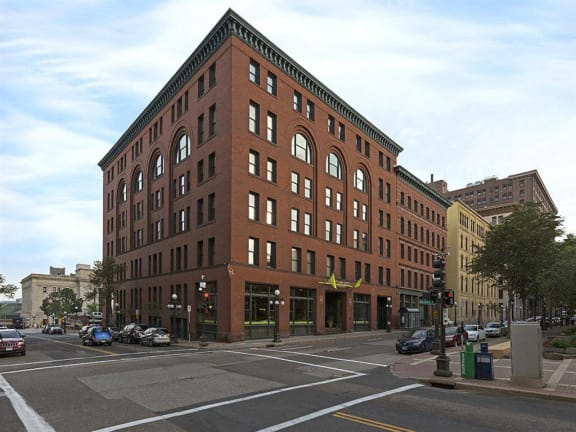 Lowertown Lofts Apartments in St. Paul, MN Building Exterior