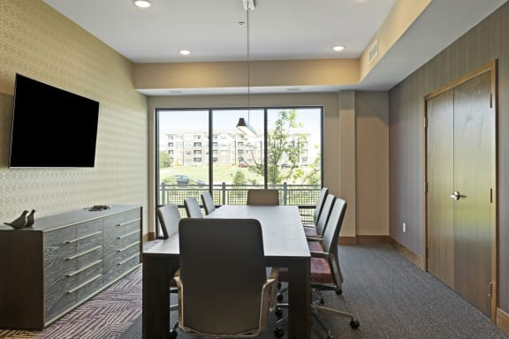 Nuvelo at Parkside Apartments in Apple Valley, MN Conference Room