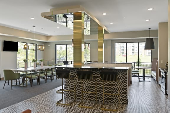 Nuvelo at Parkside Apartments in Apple Valley, MN Community Room