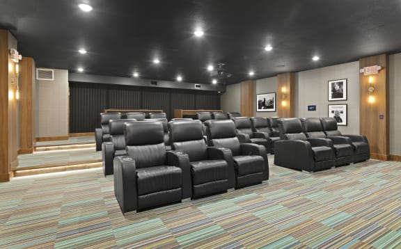 Nuvelo at Parkside Apartments in Apple Valley, MN Theater Room