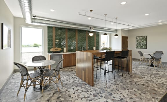 Nuvelo at Parkside Apartments in Apple Valley Rooftop Lounge