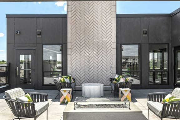 Nuvelo at Parkside Apartments in Apple Valley Rooftop Deck