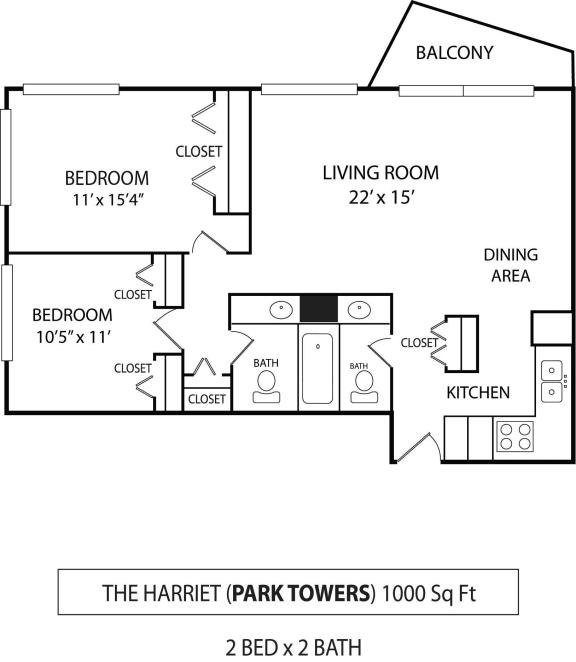 Floor Plan  The Harriet