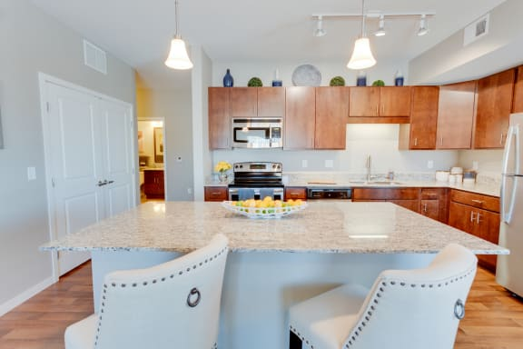 Gabella at Parkside Apartments in Apple Valley, MN Kitchen